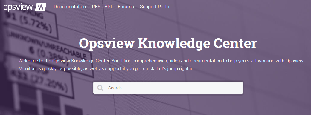 New Opsview Knowledge Center
