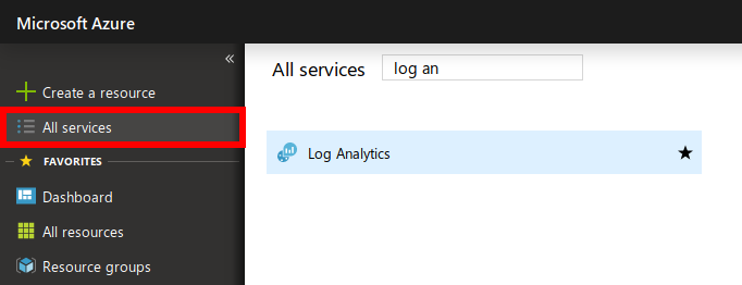Azure Log Analytics Filter