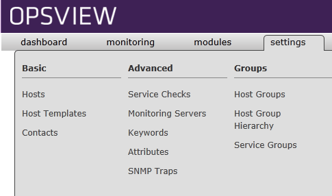 Configuring a website monitoring service check in Opsview