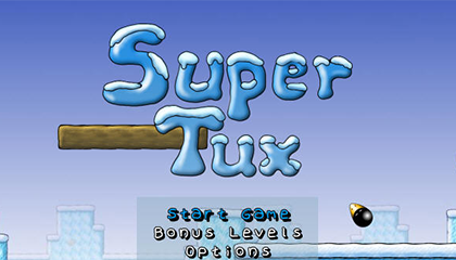 SuperTux Mario Clone Screenshot